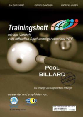 Trainingsheft Pool Billard PAT-Start, Ralph Eckert, Jorgen Sandmann, Andreas Huber