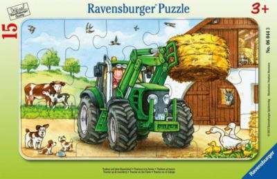 Traktor (Rahmenpuzzle)