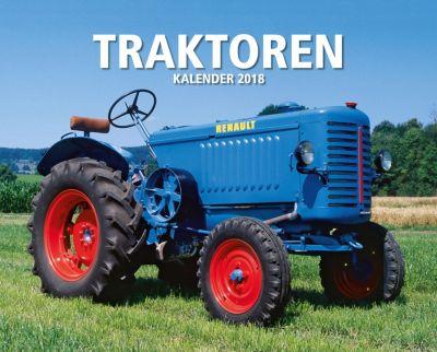 Traktoren Kalender 2018 + 2 Blechschilder