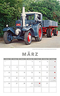 Traktoren Kalender 2018 + 2 Blechschilder - Produktdetailbild 3