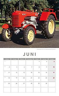 Traktoren Kalender 2018 + 2 Blechschilder - Produktdetailbild 4