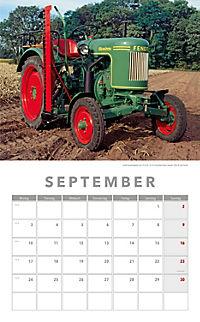 Traktoren Kalender 2018 + 2 Blechschilder - Produktdetailbild 6