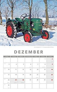 Traktoren Kalender 2018 + 2 Blechschilder - Produktdetailbild 8