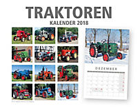 Traktoren Kalender 2018 + 2 Blechschilder - Produktdetailbild 11