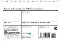 TransAlp - zu Fuß über die Alpen von München nach Venedig (Tischkalender 2019 DIN A5 quer) - Produktdetailbild 13