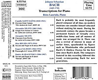 Transcriptions Für Piano - Produktdetailbild 1
