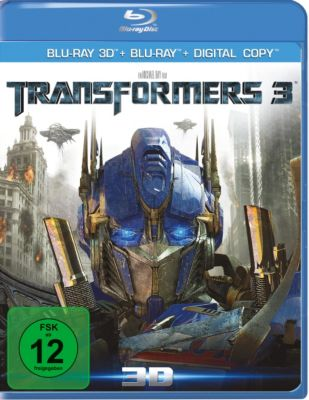 Transformers 3 - 3D-Edition, Josh Duhamel,Kevin Dunn Patrick Dempsey