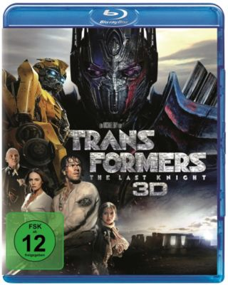 Transformers 5: The Last Knight - 3D-Version, Isabela Moner,Anthony Hopkins Mark Wahlberg