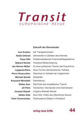 Transit 44. Europäische Revue, Claus Offe, Michael Sandel, Jacques Rupnik