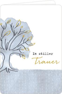 Trauerkarte - In stiller Trauer (Baum) -  pdf epub