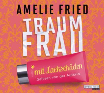 Traumfrau mit Lackschäden, 4 Audio-CDs, Amelie Fried