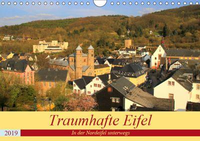 Traumhafte Eifel - In der Nordeifel unterwegs (Wandkalender 2019 DIN A4 quer), Arno Klatt