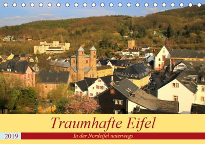 Traumhafte Eifel - In der Nordeifel unterwegs (Tischkalender 2019 DIN A5 quer), Arno Klatt