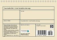 Traumhafte Eifel - In der Nordeifel unterwegs (Tischkalender 2019 DIN A5 quer) - Produktdetailbild 13