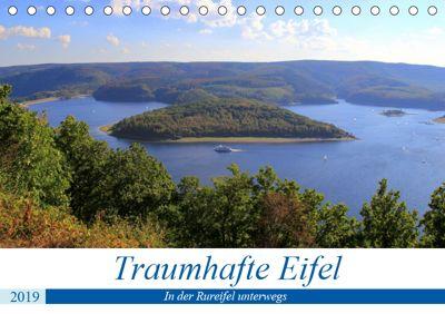 Traumhafte Eifel - In der Rureifel unterwegs (Tischkalender 2019 DIN A5 quer), Arno Klatt