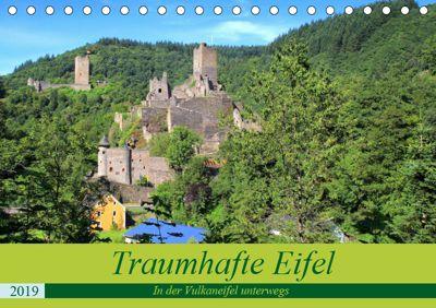Traumhafte Eifel - In der Vulkaneifel unterwegs (Tischkalender 2019 DIN A5 quer), Arno Klatt