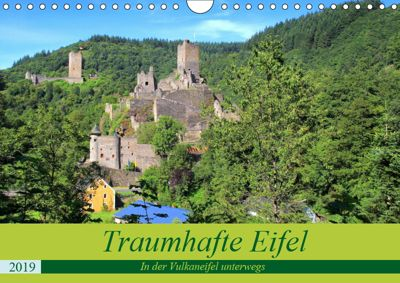 Traumhafte Eifel - In der Vulkaneifel unterwegs (Wandkalender 2019 DIN A4 quer), Arno Klatt
