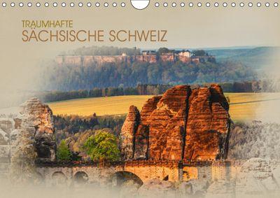 Traumhafte Sächsische Schweiz (Wandkalender 2019 DIN A4 quer), Dirk Meutzner