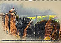 Traumhafte Sächsische Schweiz (Wandkalender 2019 DIN A3 quer) - Produktdetailbild 3