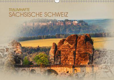 Traumhafte Sächsische Schweiz (Wandkalender 2019 DIN A3 quer), Dirk Meutzner