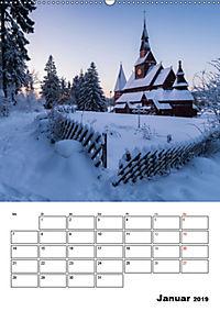 Traumhaftes Deutschland - Idyllische Ansichten (Wandkalender 2019 DIN A2 hoch) - Produktdetailbild 1