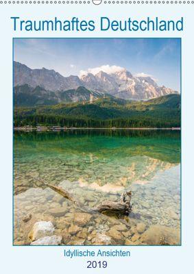 Traumhaftes Deutschland - Idyllische Ansichten (Wandkalender 2019 DIN A2 hoch), Martin Wasilewski