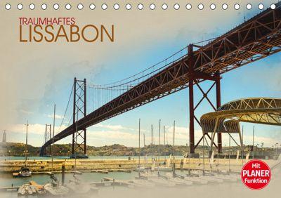 Traumhaftes Lissabon (Tischkalender 2019 DIN A5 quer), Dirk Meutzner
