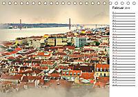 Traumhaftes Lissabon (Tischkalender 2019 DIN A5 quer) - Produktdetailbild 2