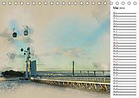 Traumhaftes Lissabon (Tischkalender 2019 DIN A5 quer) - Produktdetailbild 5