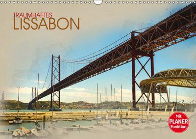Traumhaftes Lissabon (Wandkalender 2019 DIN A3 quer), Dirk Meutzner