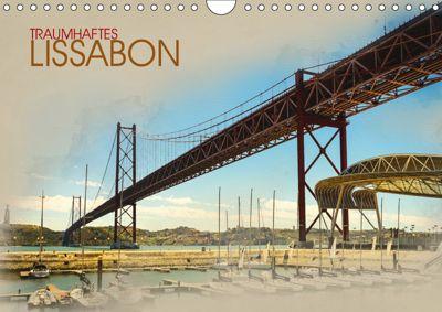 Traumhaftes Lissabon (Wandkalender 2019 DIN A4 quer), Dirk Meutzner