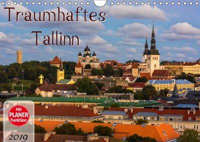 Traumhaftes Tallinn (Wandkalender 2019 DIN A4 quer), Marcel Wenk
