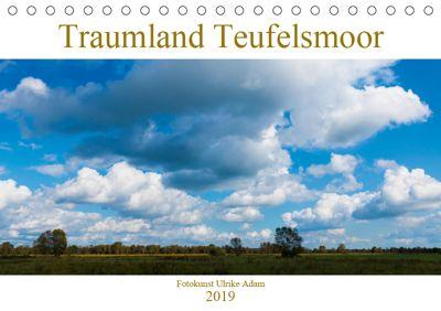 Traumland Teufelsmoor (Tischkalender 2019 DIN A5 quer), Ulrike Adam
