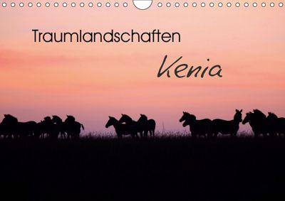 Traumlandschaften Kenia (Wandkalender 2019 DIN A4 quer), Michael Herzog