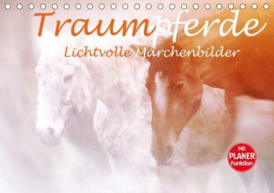 Traumpferde. Lichtvolle Märchenbilder (Tischkalender 2019 DIN A5 quer), Liselotte Brunner-Klaus