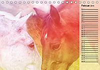 Traumpferde. Lichtvolle Märchenbilder (Tischkalender 2019 DIN A5 quer) - Produktdetailbild 2