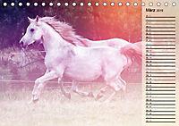 Traumpferde. Lichtvolle Märchenbilder (Tischkalender 2019 DIN A5 quer) - Produktdetailbild 3