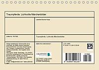 Traumpferde. Lichtvolle Märchenbilder (Tischkalender 2019 DIN A5 quer) - Produktdetailbild 13