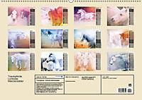 Traumpferde. Lichtvolle Märchenbilder (Wandkalender 2019 DIN A2 quer) - Produktdetailbild 13