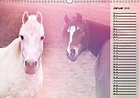 Traumpferde. Lichtvolle Märchenbilder (Wandkalender 2019 DIN A3 quer) - Produktdetailbild 1