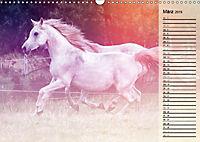 Traumpferde. Lichtvolle Märchenbilder (Wandkalender 2019 DIN A3 quer) - Produktdetailbild 3