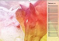 Traumpferde. Lichtvolle Märchenbilder (Wandkalender 2019 DIN A3 quer) - Produktdetailbild 2
