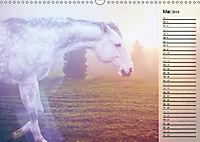 Traumpferde. Lichtvolle Märchenbilder (Wandkalender 2019 DIN A3 quer) - Produktdetailbild 5