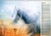 Traumpferde. Lichtvolle Märchenbilder (Wandkalender 2019 DIN A3 quer) - Produktdetailbild 7