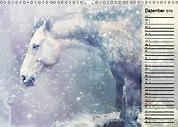 Traumpferde. Lichtvolle Märchenbilder (Wandkalender 2019 DIN A3 quer) - Produktdetailbild 12