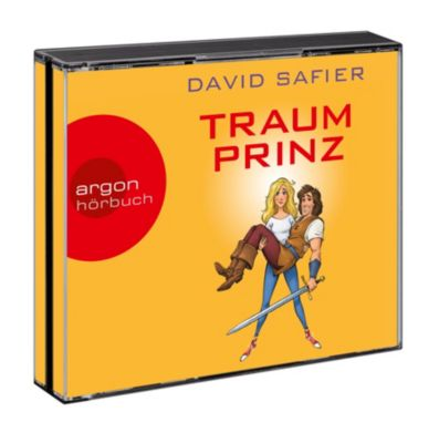 Traumprinz, 6 Audio-CDs, David Safier