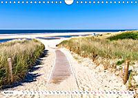 Traumstrände an Deutschlands Küsten (Wandkalender 2019 DIN A4 quer) - Produktdetailbild 4