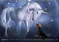Traumverwandte Einhörner (Wandkalender 2019 DIN A3 quer) - Produktdetailbild 9