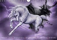 Traumverwandte Einhörner (Wandkalender 2019 DIN A4 quer) - Produktdetailbild 2