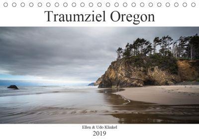 Traumziel Oregon (Tischkalender 2019 DIN A5 quer), Ellen Klinkel
